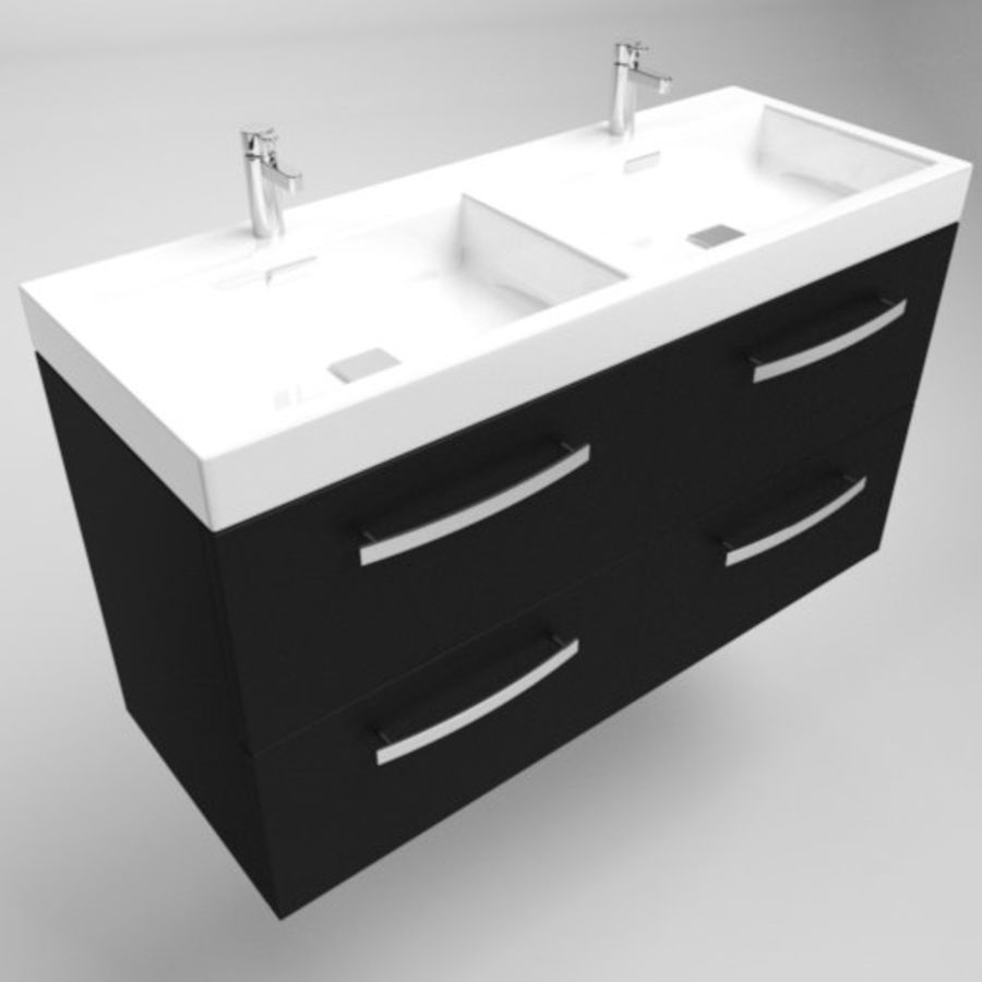 Sink Architech royalty-free 3d model - Preview no. 3