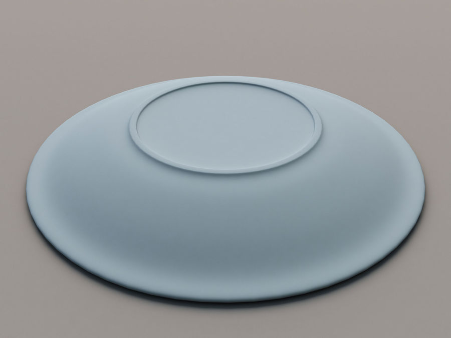 Plate B royalty-free 3d model - Preview no. 8