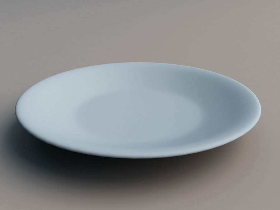 Plate B royalty-free 3d model - Preview no. 7