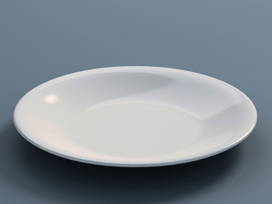 Plate B royalty-free 3d model - Preview no. 1