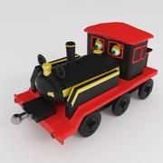 장난감 기관차 3d model