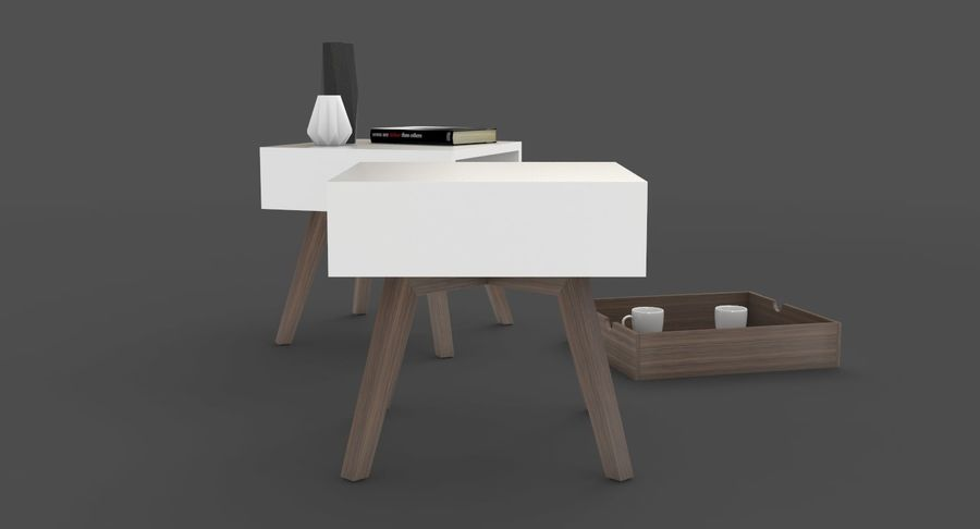mesa de cabeceira royalty-free 3d model - Preview no. 5