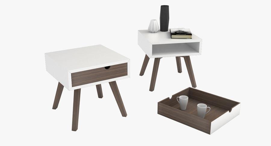 table de chevet royalty-free 3d model - Preview no. 1
