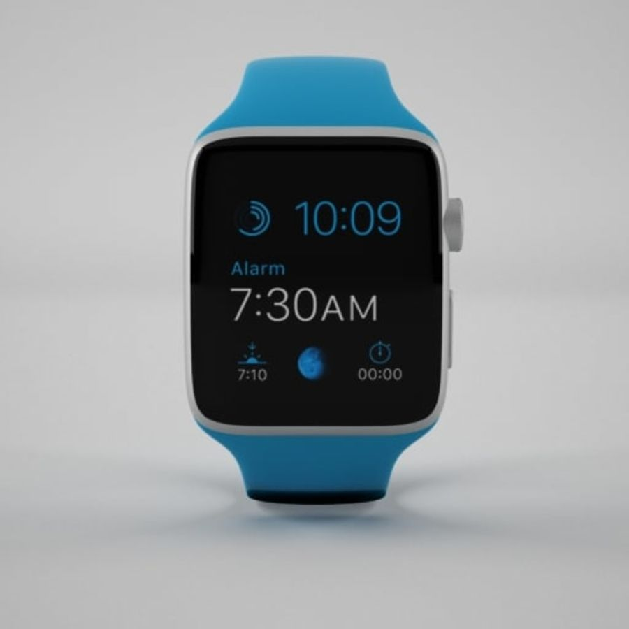Apple Watch 스포츠 royalty-free 3d model - Preview no. 2