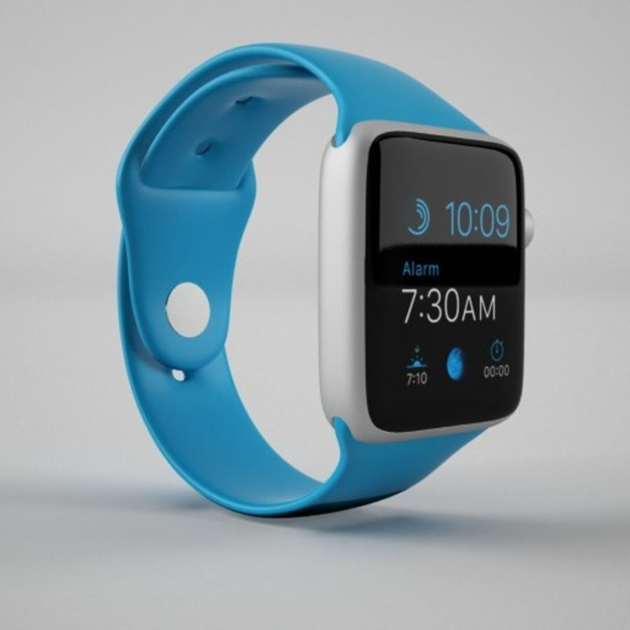 Apple Watch 스포츠 royalty-free 3d model - Preview no. 5