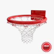 Cerchio di pallacanestro 3d model