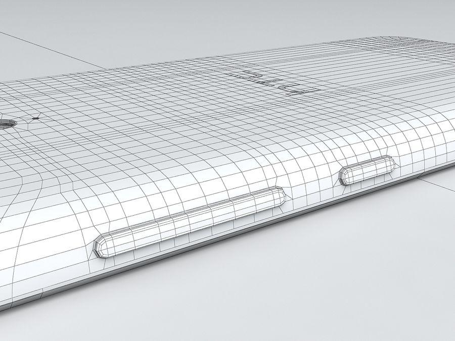 HTC Desire 620 royalty-free 3d model - Preview no. 22