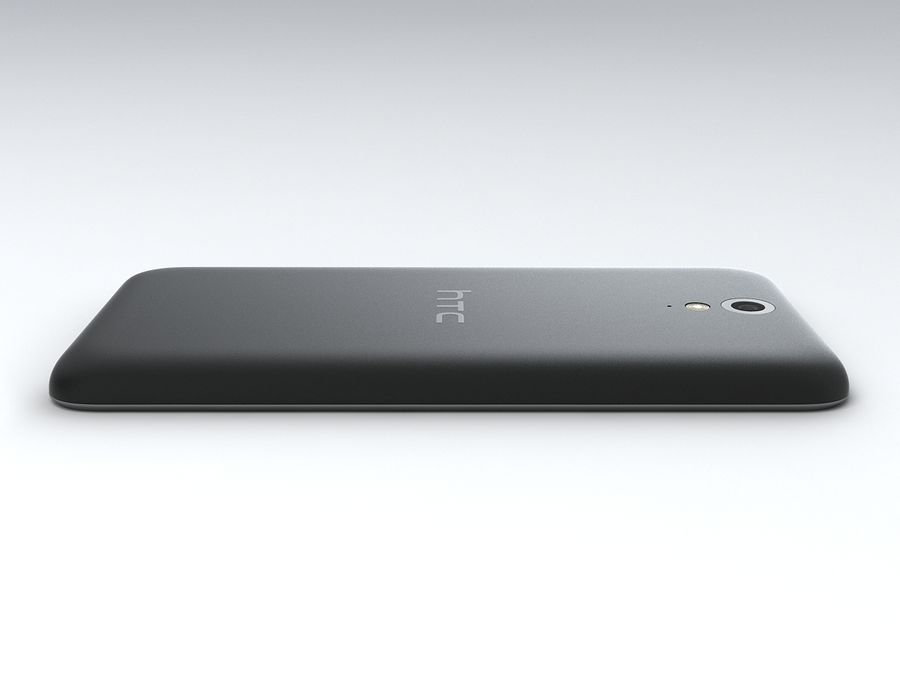 HTC Desire 620 royalty-free 3d model - Preview no. 8