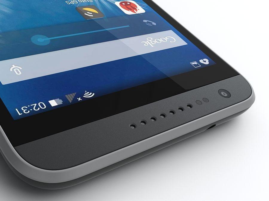 HTC Desire 620 royalty-free 3d model - Preview no. 12