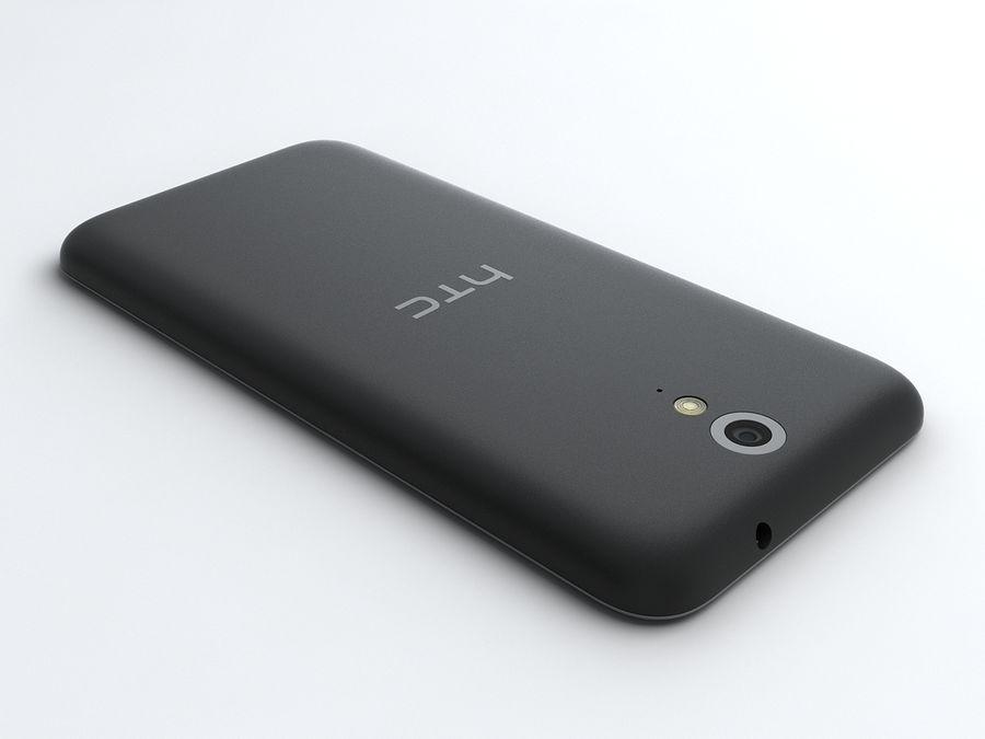 HTC Desire 620 royalty-free 3d model - Preview no. 3