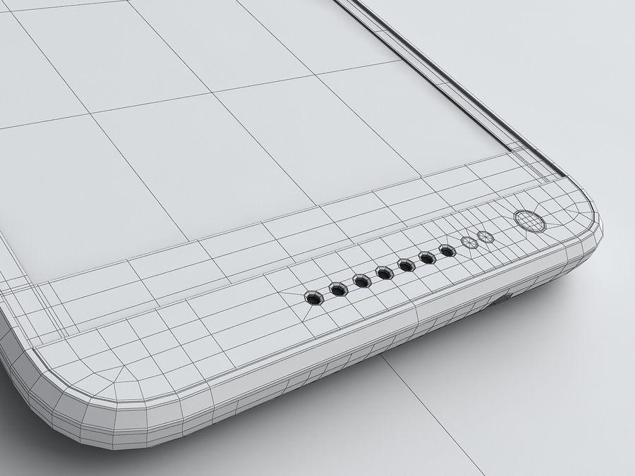 HTC Desire 620 royalty-free 3d model - Preview no. 20
