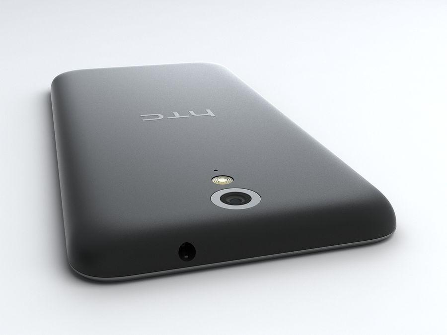 HTC Desire 620 royalty-free 3d model - Preview no. 6