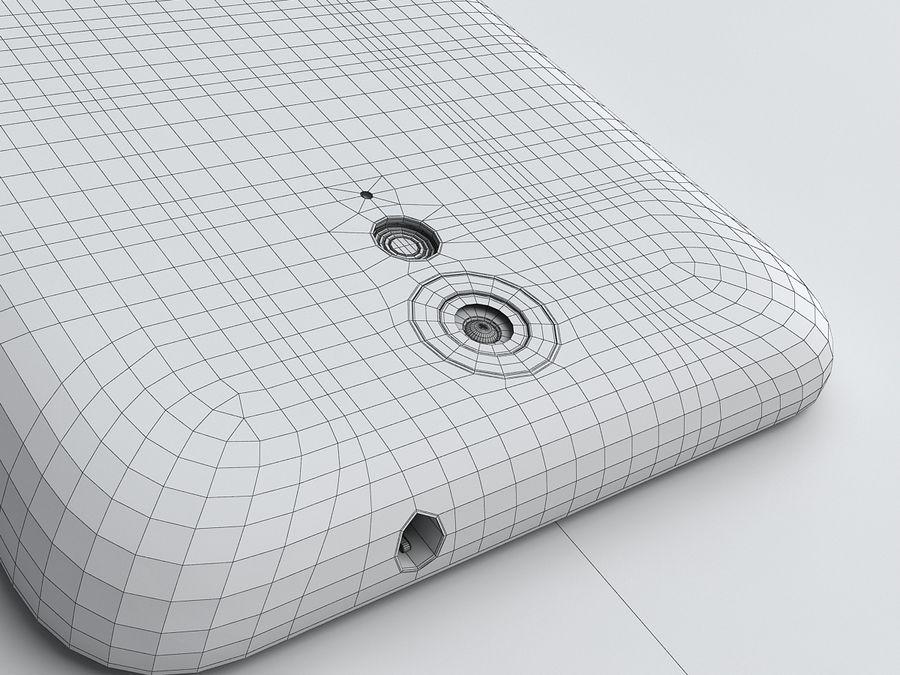 HTC Desire 620 royalty-free 3d model - Preview no. 21