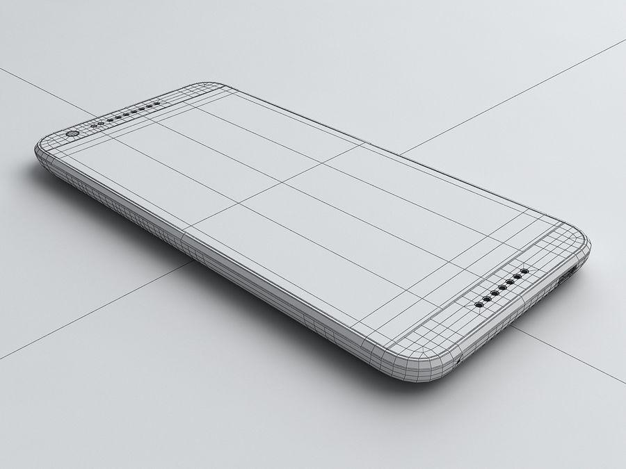 HTC Desire 620 royalty-free 3d model - Preview no. 15