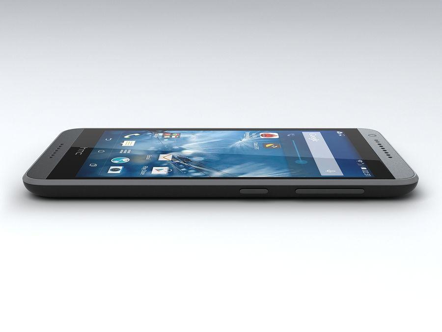 HTC Desire 620 royalty-free 3d model - Preview no. 7