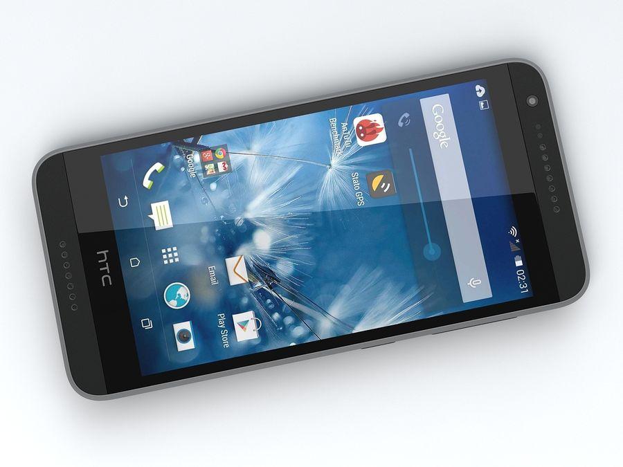 HTC Desire 620 royalty-free 3d model - Preview no. 9
