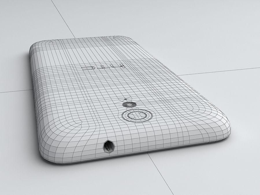HTC Desire 620 royalty-free 3d model - Preview no. 19