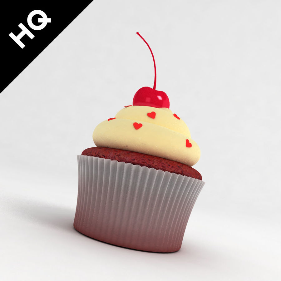 Petit gâteau royalty-free 3d model - Preview no. 2