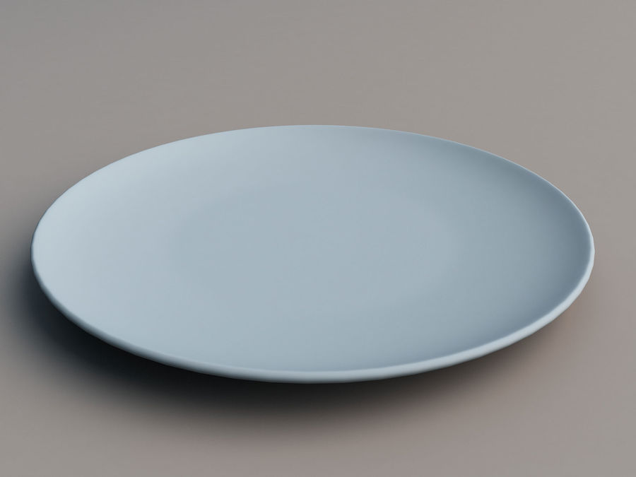 Plate C royalty-free 3d model - Preview no. 7