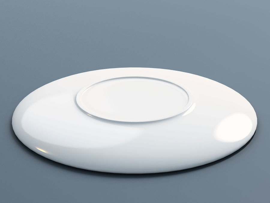 Plate C royalty-free 3d model - Preview no. 2