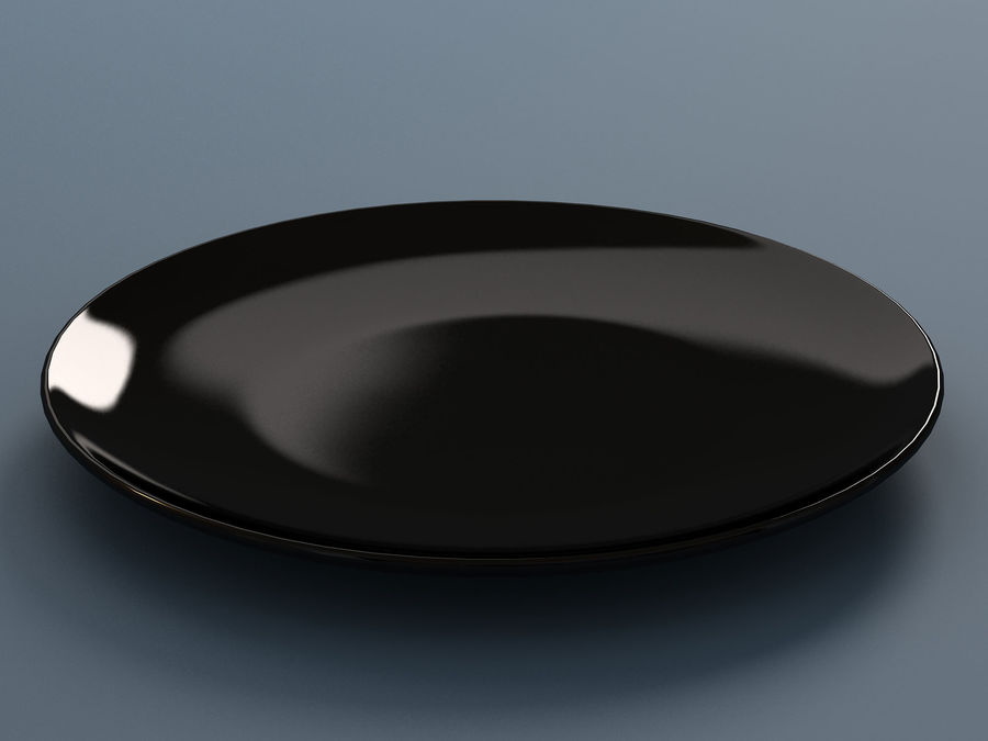 Plate C royalty-free 3d model - Preview no. 3