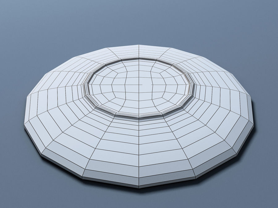 Plate C royalty-free 3d model - Preview no. 10
