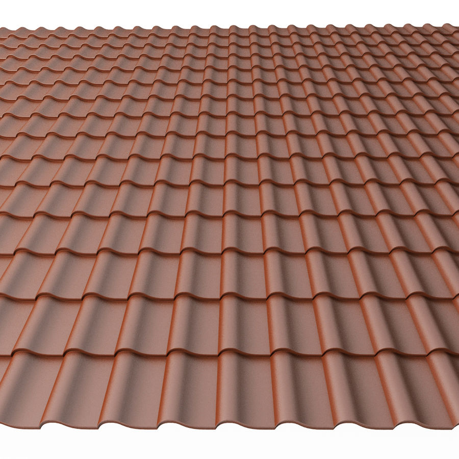Roofing 3 royalty-free 3d model - Preview no. 3