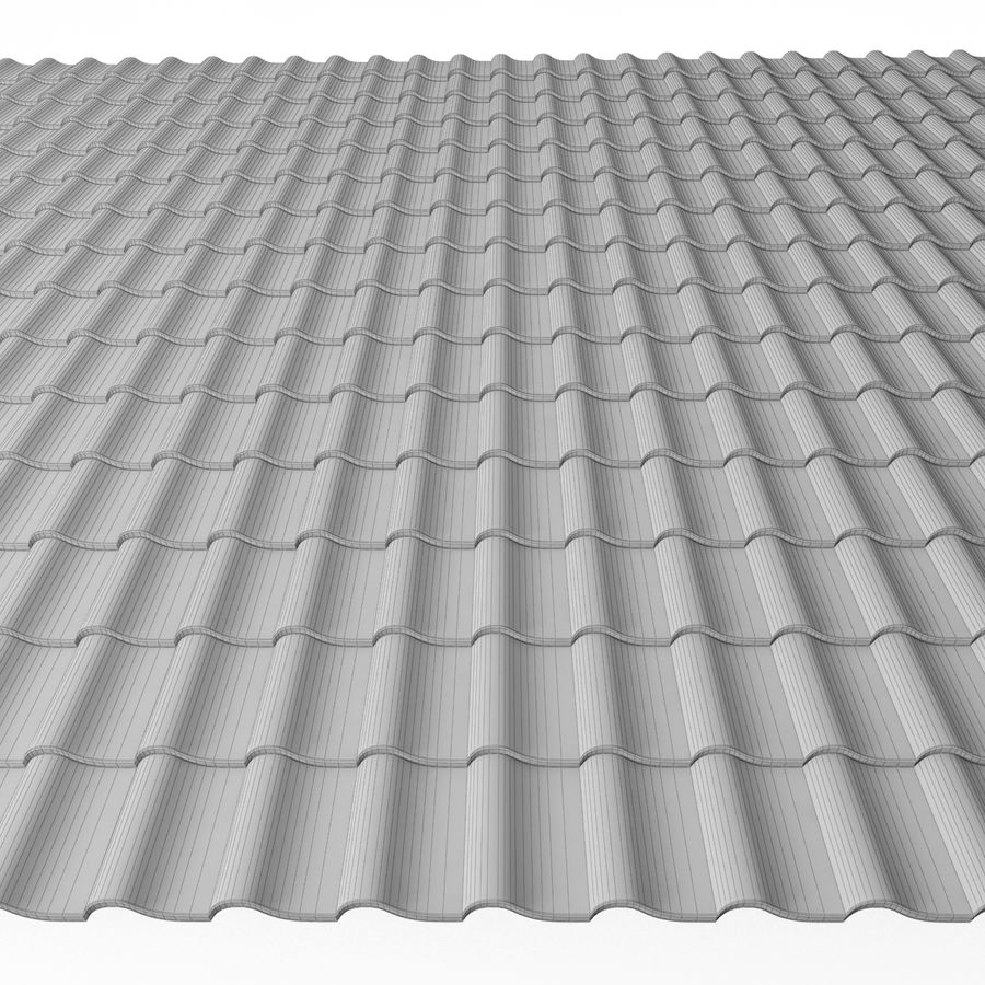 Roofing 3 royalty-free 3d model - Preview no. 4