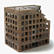 Edificio distrutto 5 3d model
