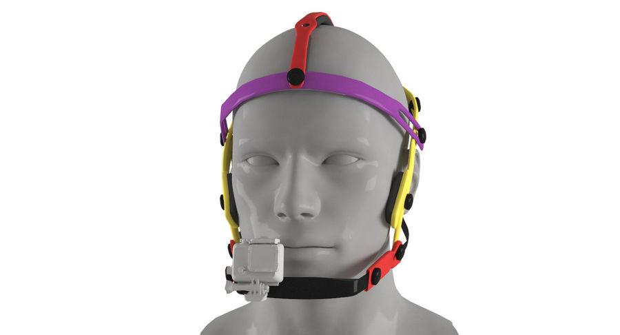 Приключенческая маска для GoPro royalty-free 3d model - Preview no. 2