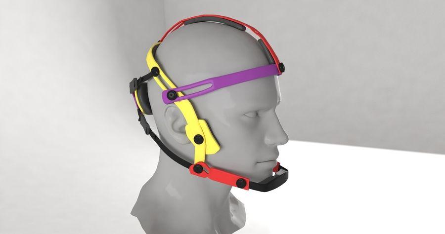 Приключенческая маска для GoPro royalty-free 3d model - Preview no. 5