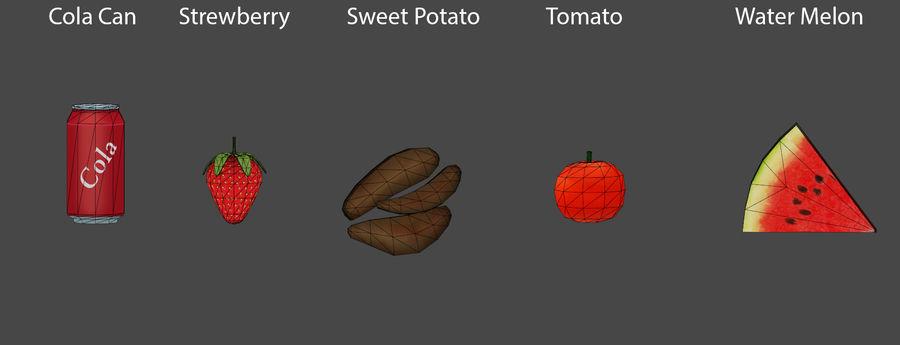 Gıda maddeleri royalty-free 3d model - Preview no. 7