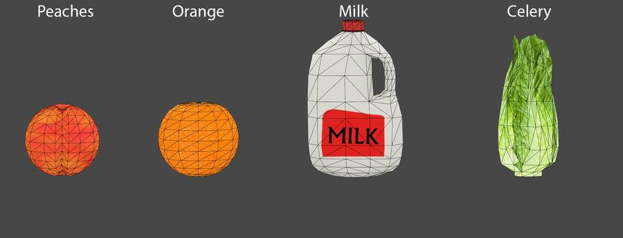 Gıda maddeleri royalty-free 3d model - Preview no. 9