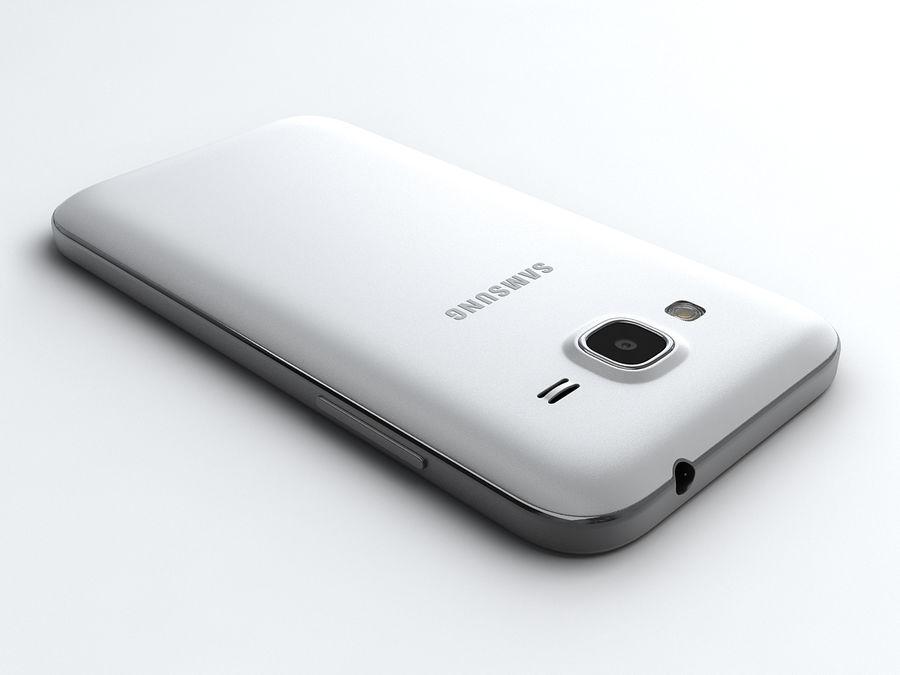三星Galaxy Core Prime royalty-free 3d model - Preview no. 4