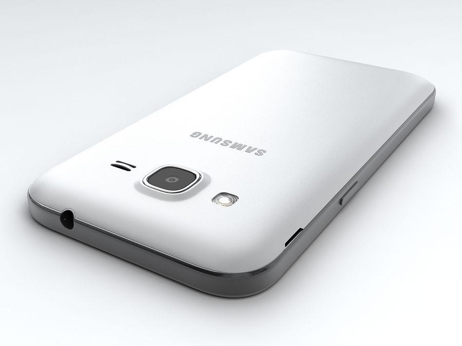三星Galaxy Core Prime royalty-free 3d model - Preview no. 12