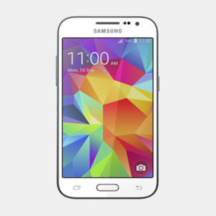 三星Galaxy Core Prime royalty-free 3d model - Preview no. 1