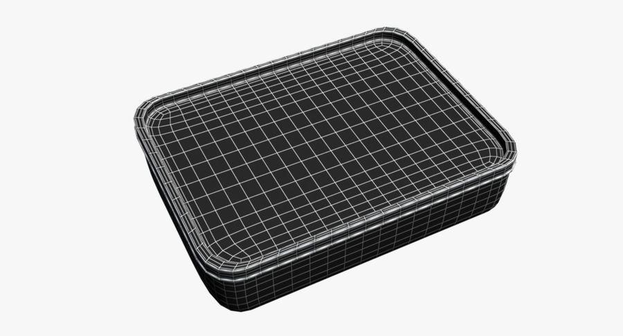 Lebensmittelbehälter royalty-free 3d model - Preview no. 13