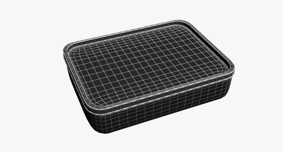 Mat container royalty-free 3d model - Preview no. 14