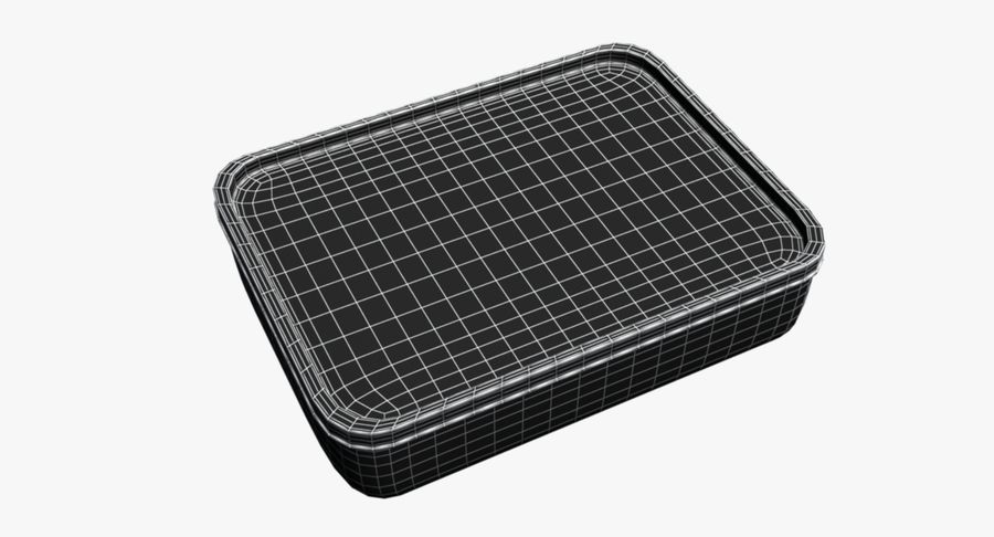Mat container royalty-free 3d model - Preview no. 13