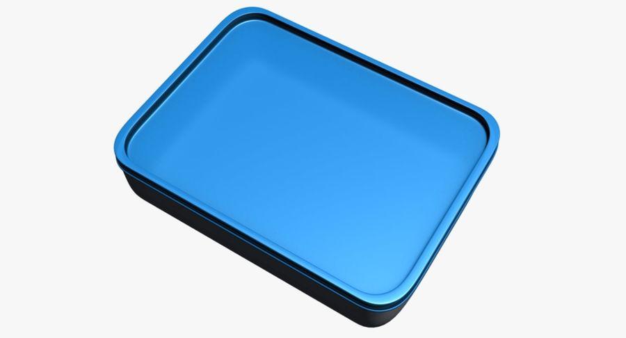 Lebensmittelbehälter royalty-free 3d model - Preview no. 10