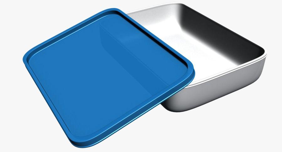 Lebensmittelbehälter royalty-free 3d model - Preview no. 5