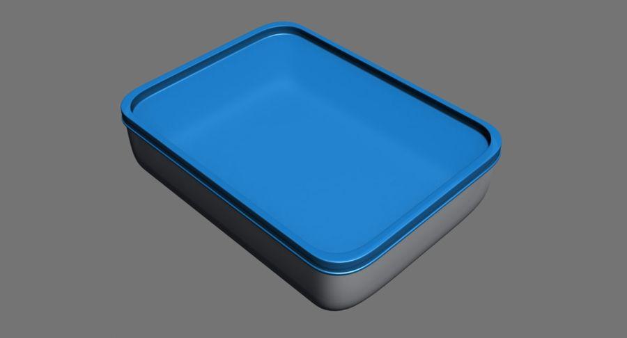 Lebensmittelbehälter royalty-free 3d model - Preview no. 3