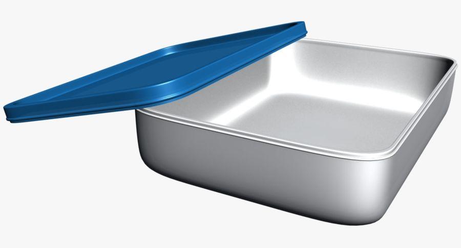 Lebensmittelbehälter royalty-free 3d model - Preview no. 4