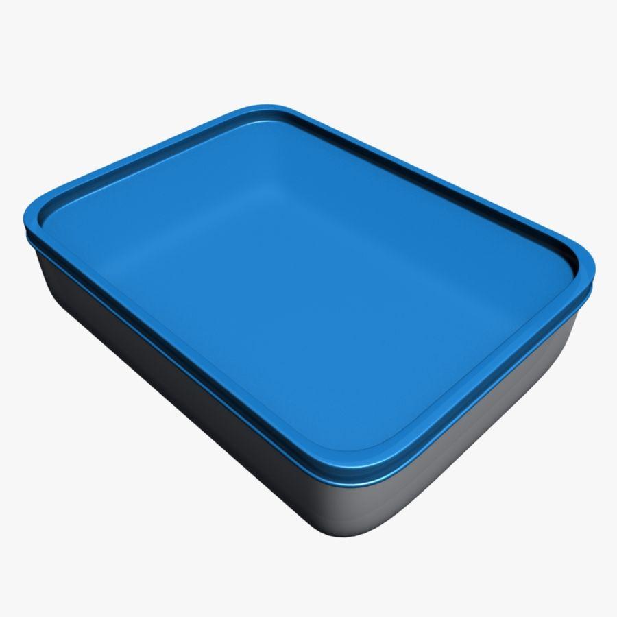 Lebensmittelbehälter royalty-free 3d model - Preview no. 1