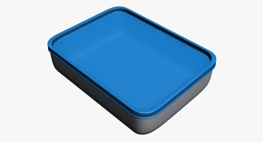Lebensmittelbehälter royalty-free 3d model - Preview no. 2