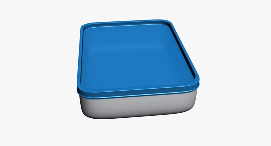 Mat container royalty-free 3d model - Preview no. 9