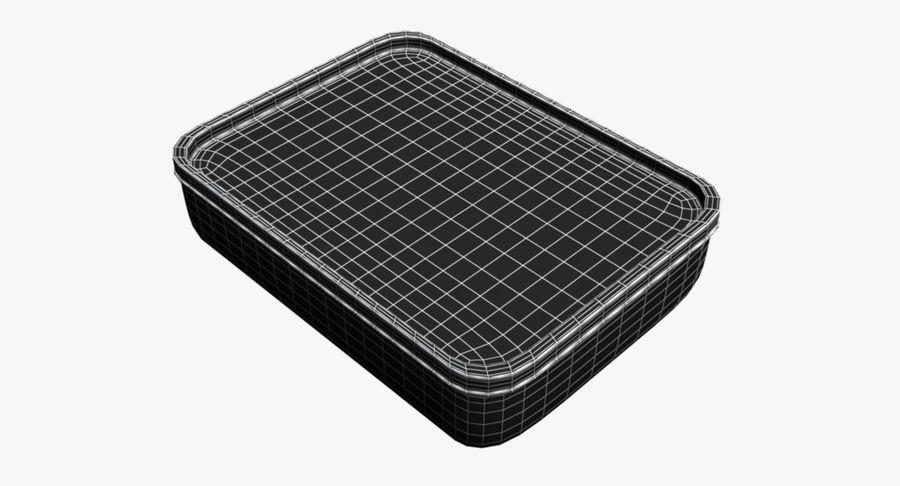 Lebensmittelbehälter royalty-free 3d model - Preview no. 12