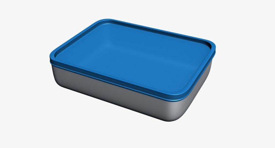 Lebensmittelbehälter royalty-free 3d model - Preview no. 8
