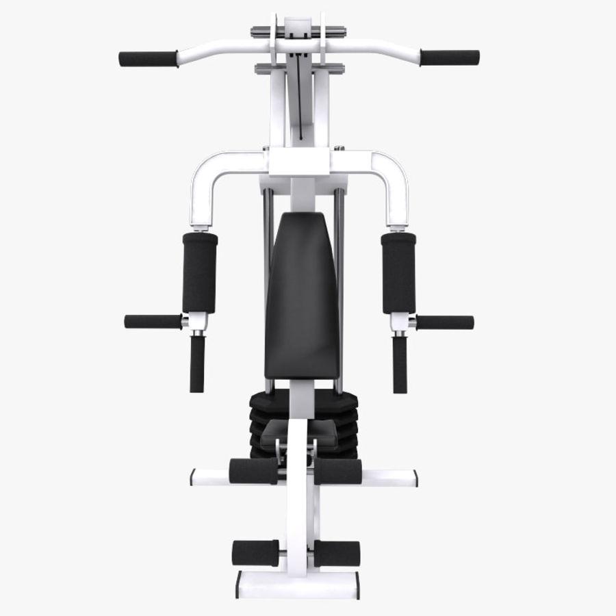 wielofunkcyjna siłownia royalty-free 3d model - Preview no. 7