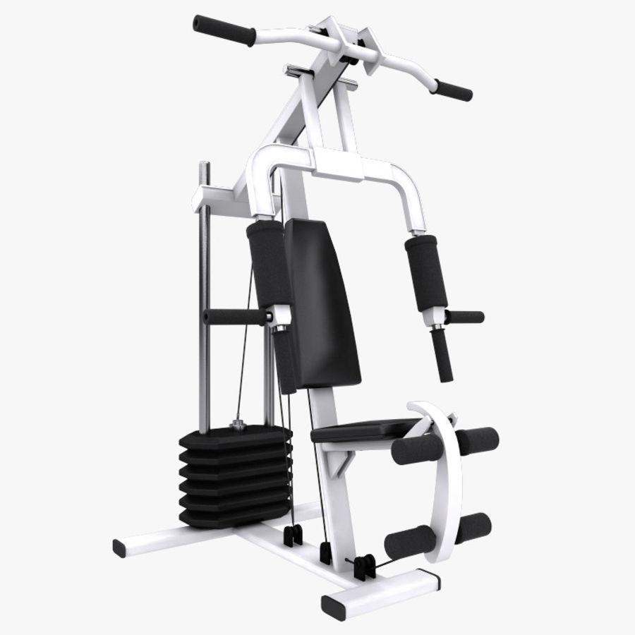 wielofunkcyjna siłownia royalty-free 3d model - Preview no. 1